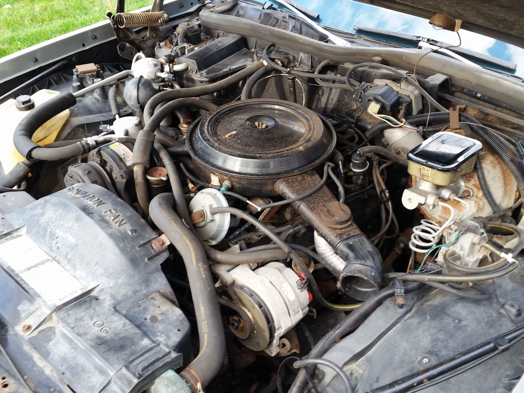 the continuing story of an olds custom cruiser page 3 grassroots V8 Engine Diagram 1993 Oldsmobile 88 Water Pump Diagram oldsmobile 307 engine exhaust diagram