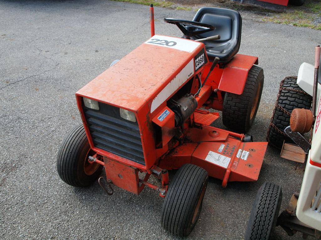Case 220 Tractor with Mower Deck - Tractors - GTtalk